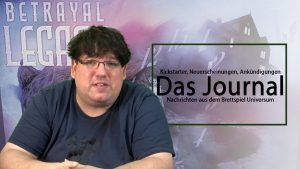 Journal 16.11.2018 News rund um Brettspiele (Podcast)