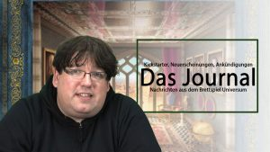Journal 7.12.2018 News rund um Brettspiele Podcast
