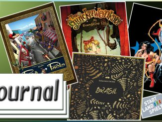 Journal 03.06.2016 News rund um Brettspiele, Comics und Tabletop