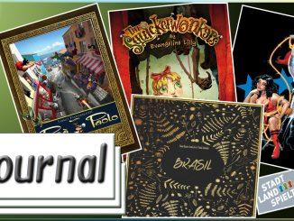 Journal 03.06.2016 News rund um Brettspiele, Comics und Tabletop