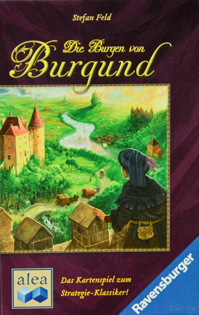 Burgen von Burgund - Das Kartenspiel