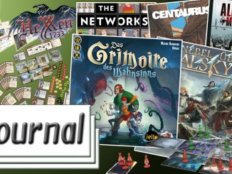 Journal 08.07.2016 News rund um Brettspiele, Comics, P&P und Tabletop