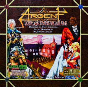 Argent - The Consortium Cover