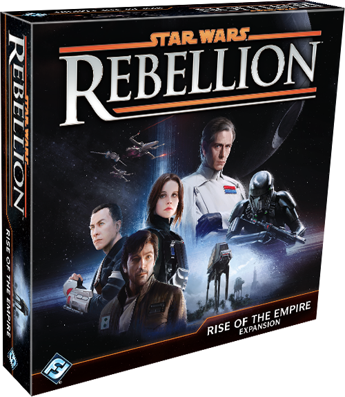 Star Wars Rebellion Expansion Cover