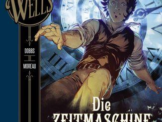 H.G. Wells Band 1 Die Zeitmaschine Cover