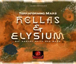 Terraforming Mars Hella und Elysium Cover