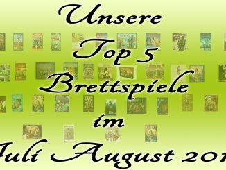 Top 5 Juli August 2017