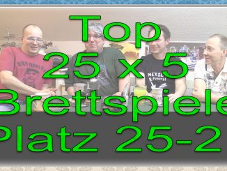 Top 25 x 5 Platz 25-21
