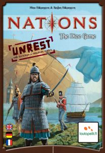 Nation the Dice Game Unrest cover